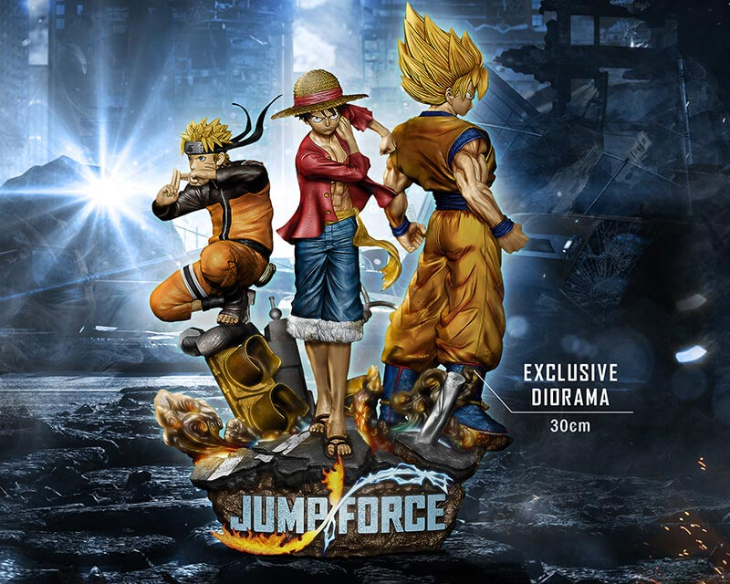 Jump Force Collector\u0027s Edition 3 out of 6 image gallery