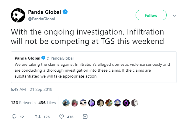 Panda Global's statements on Infiltration 1 out of 2 image gallery