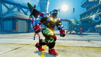 Mecha Zangief Extra Battle crossover costume in Street Fighter 5: Arcade Edition image #1