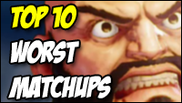 Zangief worst match ups / tier chart in Street Fighter 5: Arcade Edition image #1