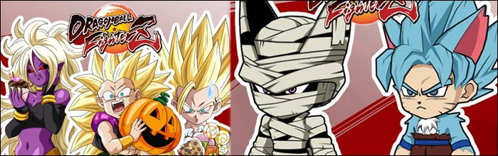 heres a better look at dragon ball fighterzs free halloween content