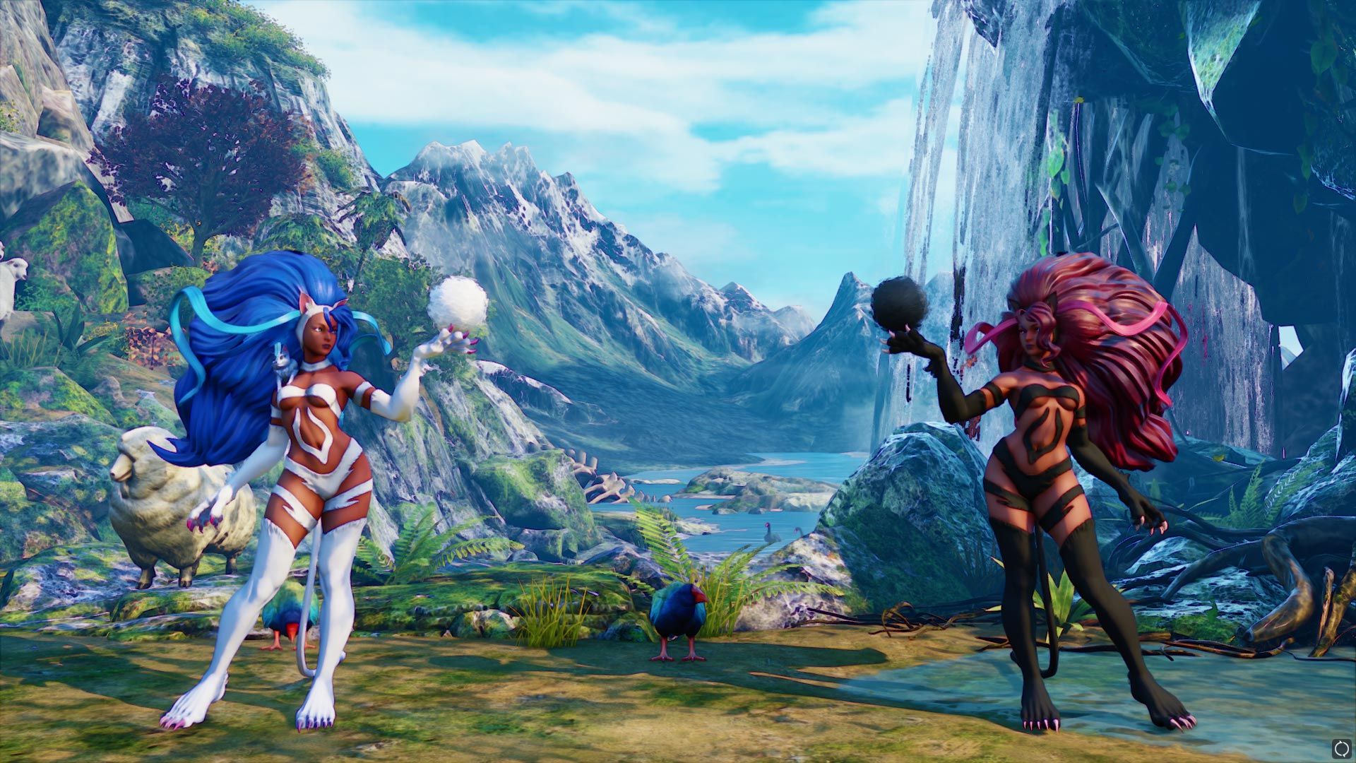 New Darkstalkers costumes in Street Fighter 5 1 out of 17 image gallery
