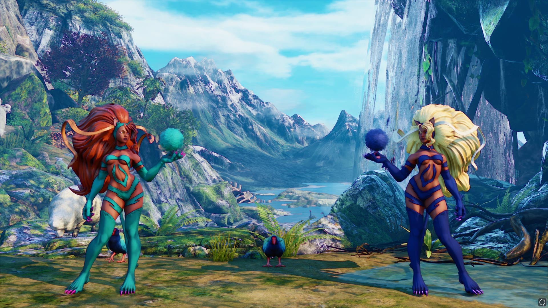 New Darkstalkers costumes in Street Fighter 5 6 out of 17 image gallery