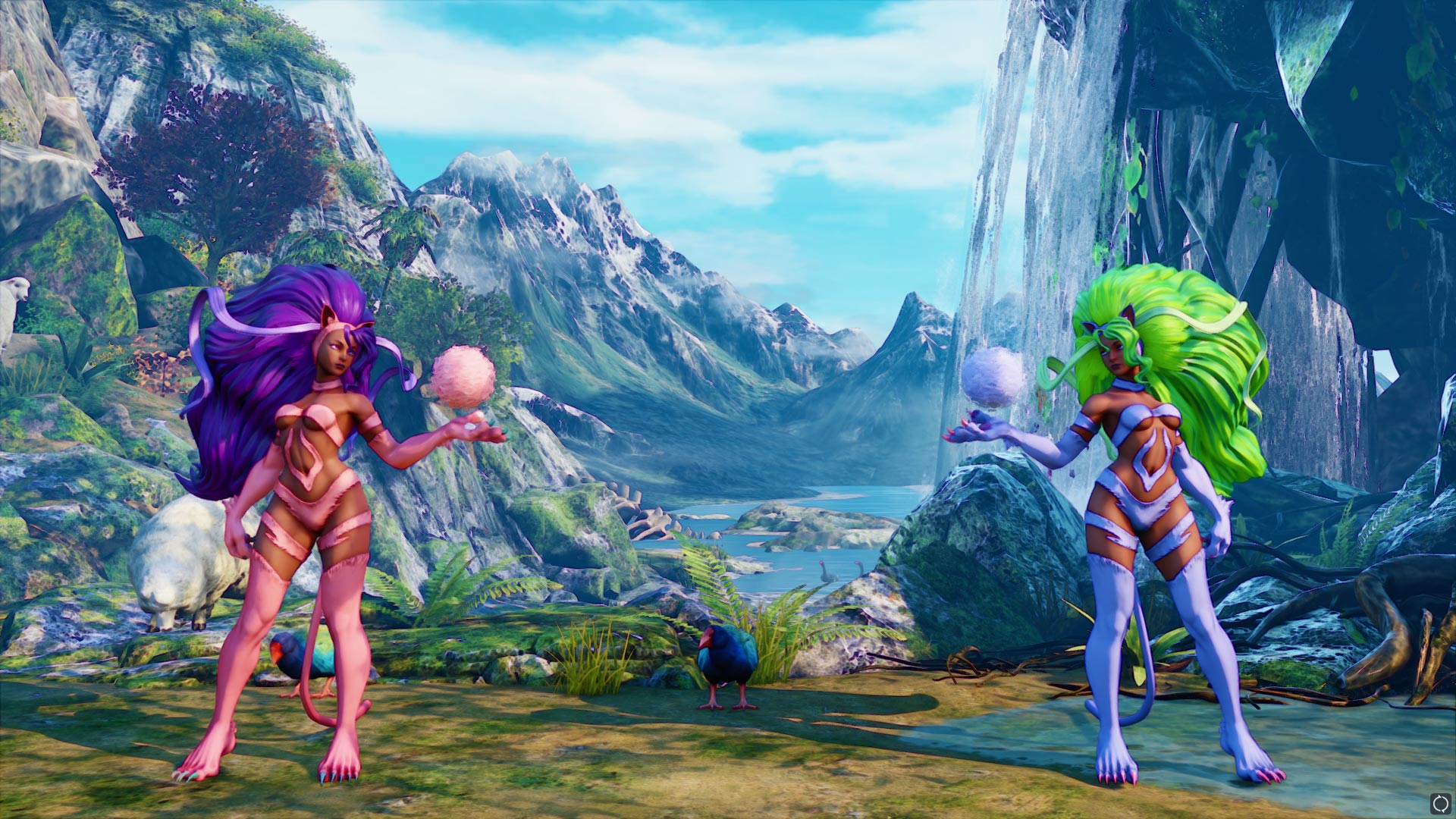 New Darkstalkers costumes in Street Fighter 5 7 out of 17 image gallery