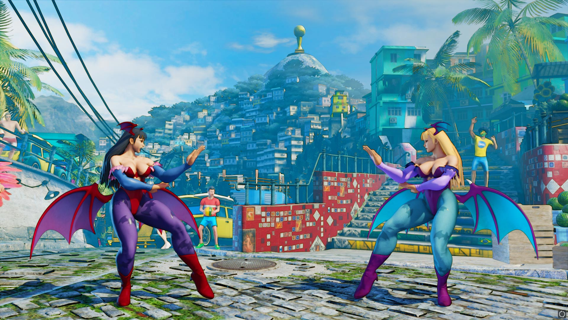 New Darkstalkers costumes in Street Fighter 5 9 out of 17 image gallery
