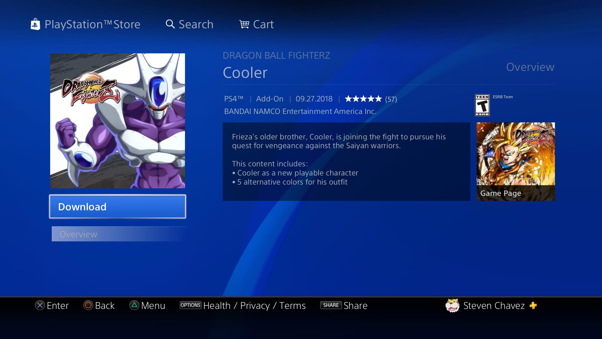 Android 17 and Cooler now available in Dragon Ball FighterZ 3 out of 15 image gallery