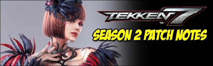 Tekken 7 Season 2 patch notes released