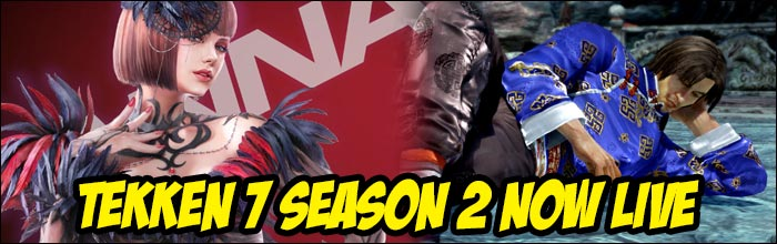 Tekken 7 Season 2 patch is now live