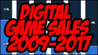 Digital game sales from 2009-2017 from Statista image #1
