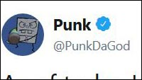 Punk's Tweet image #1