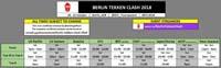 Berlin Tekken Clash Schedule image #1