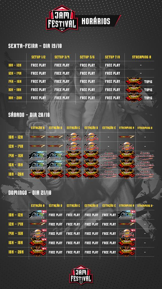 JAM Festival 2018 Event Schedule 1 out of 1 image gallery