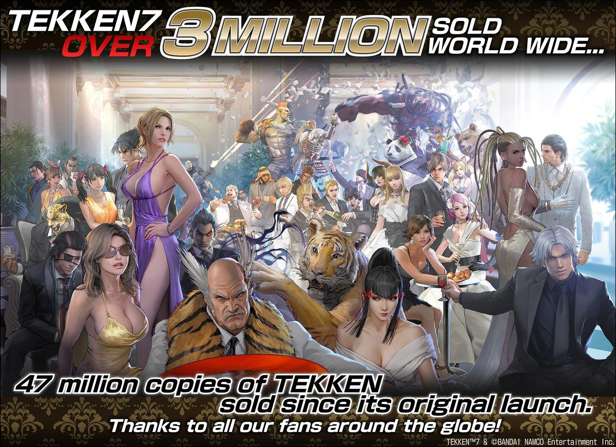 Tekken 7 Sales 2 out of 2 image gallery