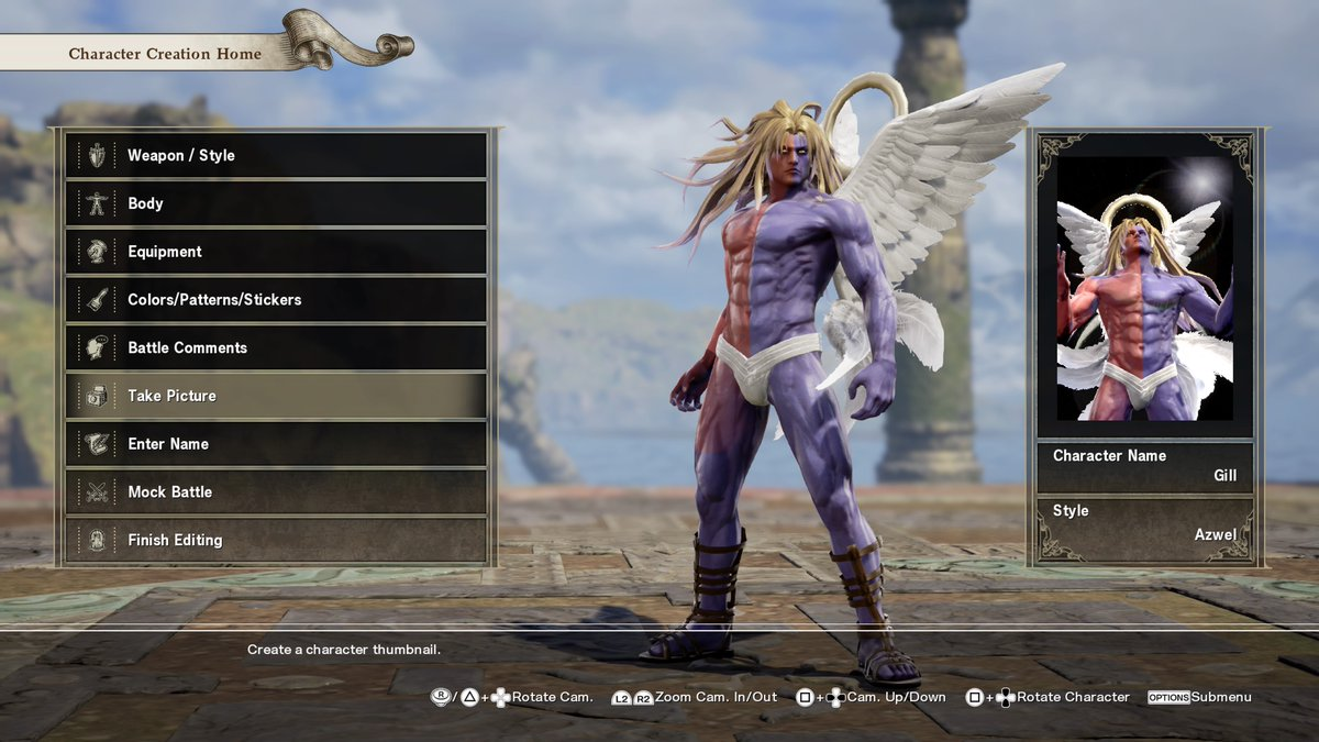 Soul Calibur 6 custom character creator 13 out of 16 image gallery