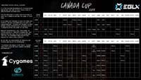 Canada Cup 2018 Event Schedule image #1