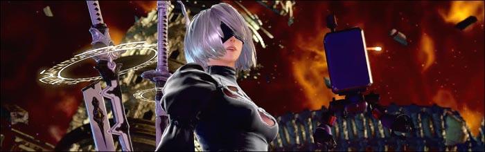 NieR: Automata's 2B revealed as Soul Calibur 6 DLC guest character
