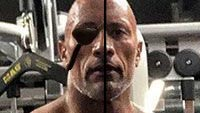 The Rock becomes Sagat thanks to BossLogic image #3