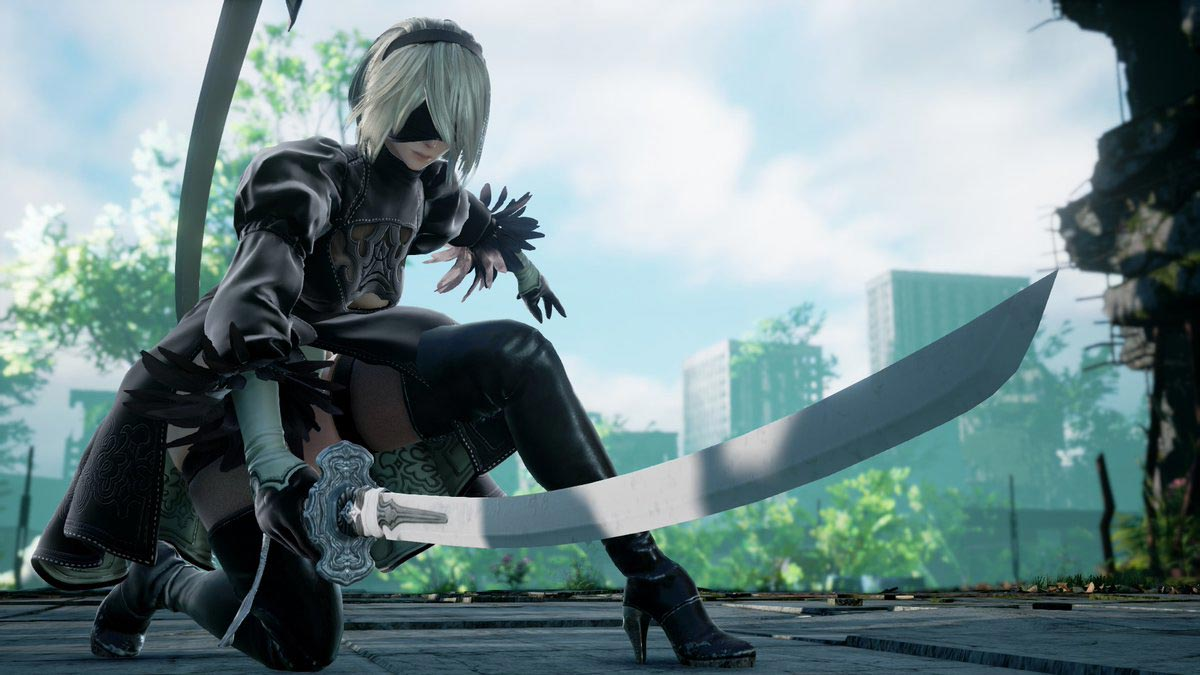 New 2B screens for Soul Calibur 6 4 out of 4 image gallery
