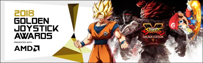 Street Fighter 5, Dragon Ball FighterZ and Super Smash Bros