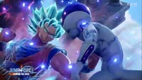 Super Saiyan God Super Saiyan Vegeta and Golden Frieza in Jump Force image #1
