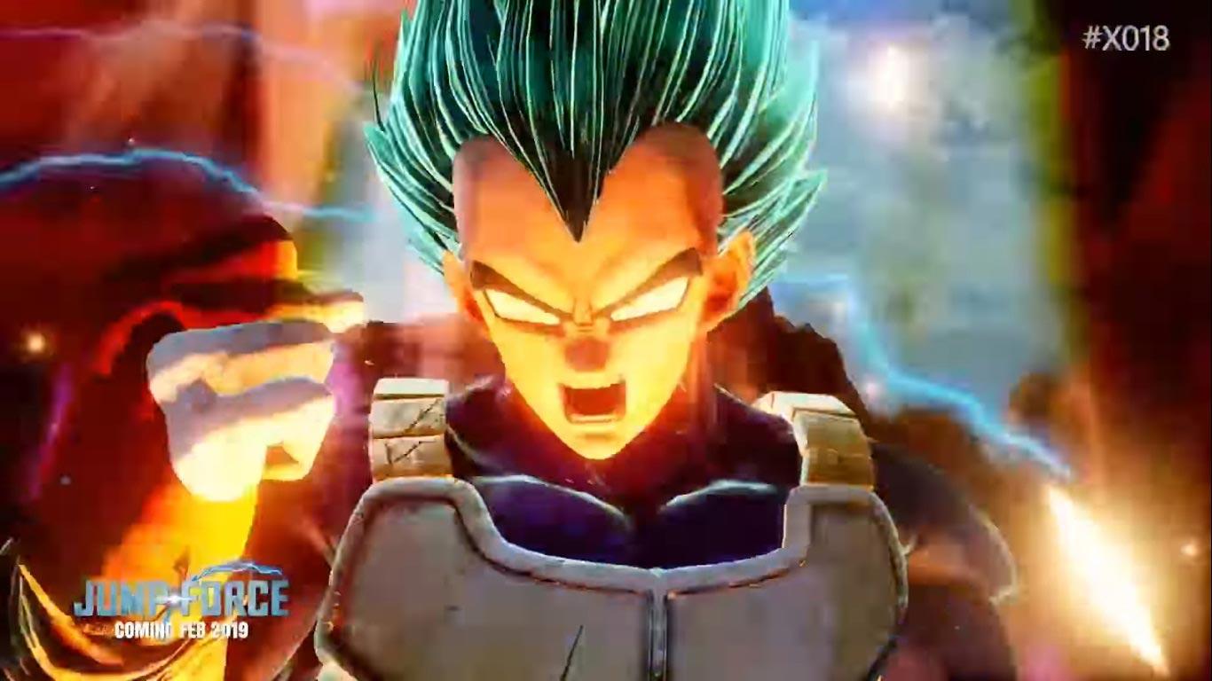 Super Saiyan God Super Saiyan Vegeta And Golden Frieza In Jump