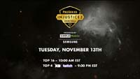 Injustice 2 Pro Series Grand Finals Event Schedule image #1