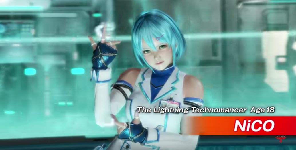 NiCO, Kokoro and La Mariposa in Dead or Alive 6 1 out of 9 image gallery