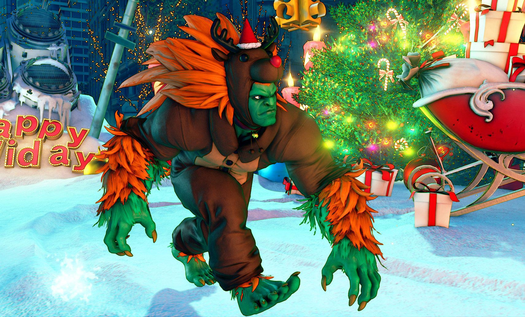 New Street Fighter 5 holiday costumes 1 out of 12 image gallery