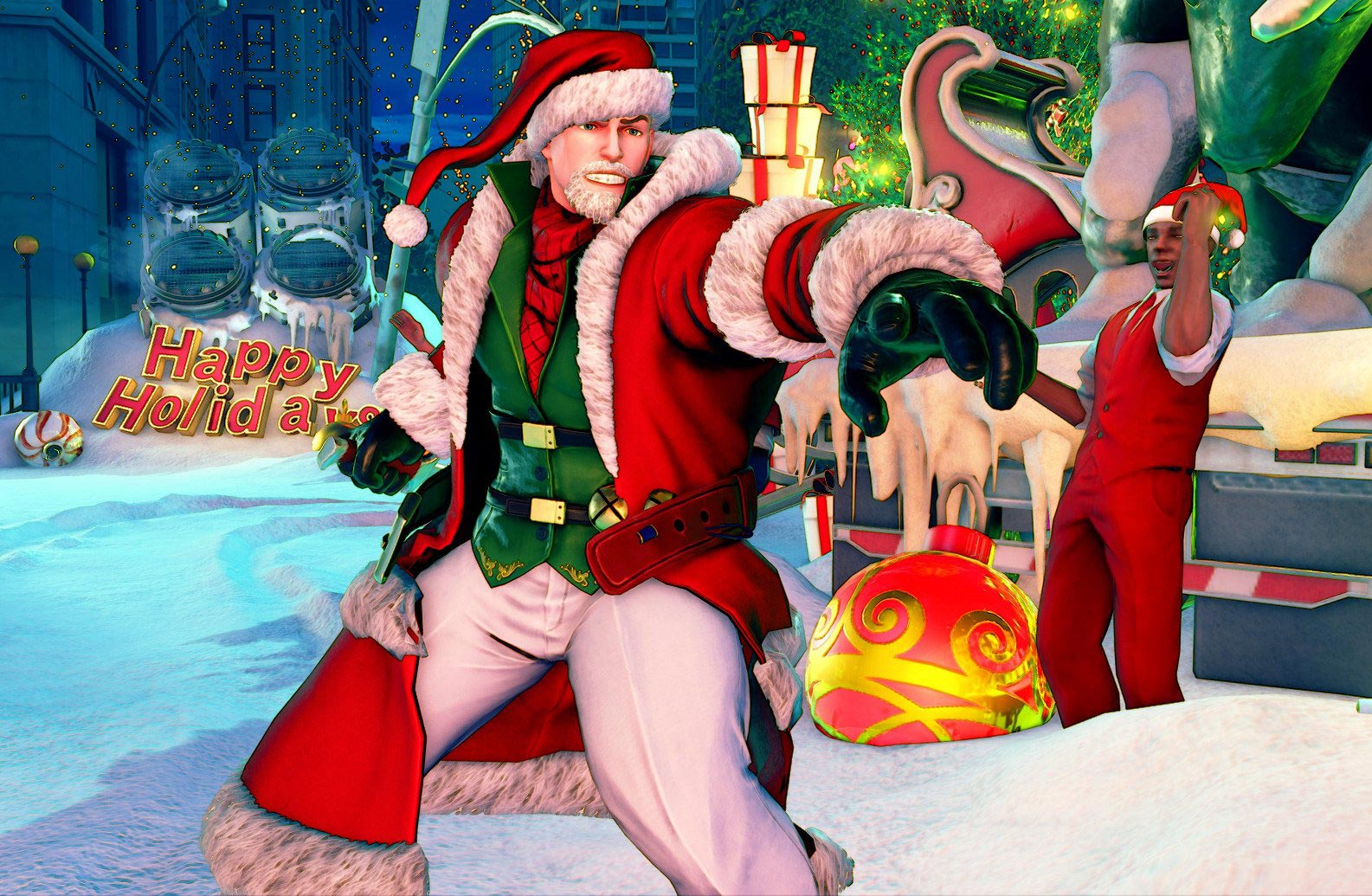 New Street Fighter 5 holiday costumes 2 out of 12 image gallery