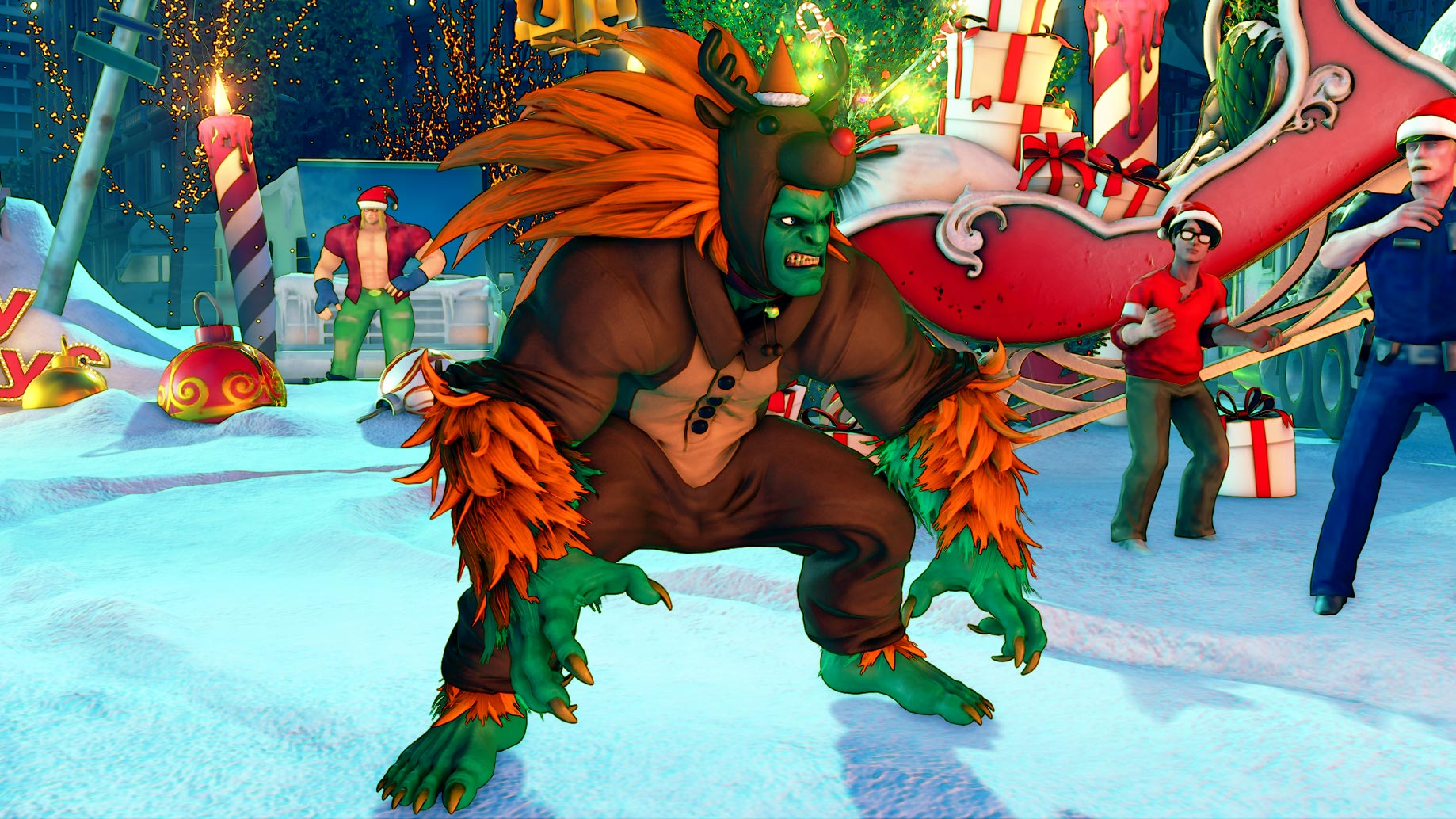 New Street Fighter 5 holiday costumes 6 out of 12 image gallery