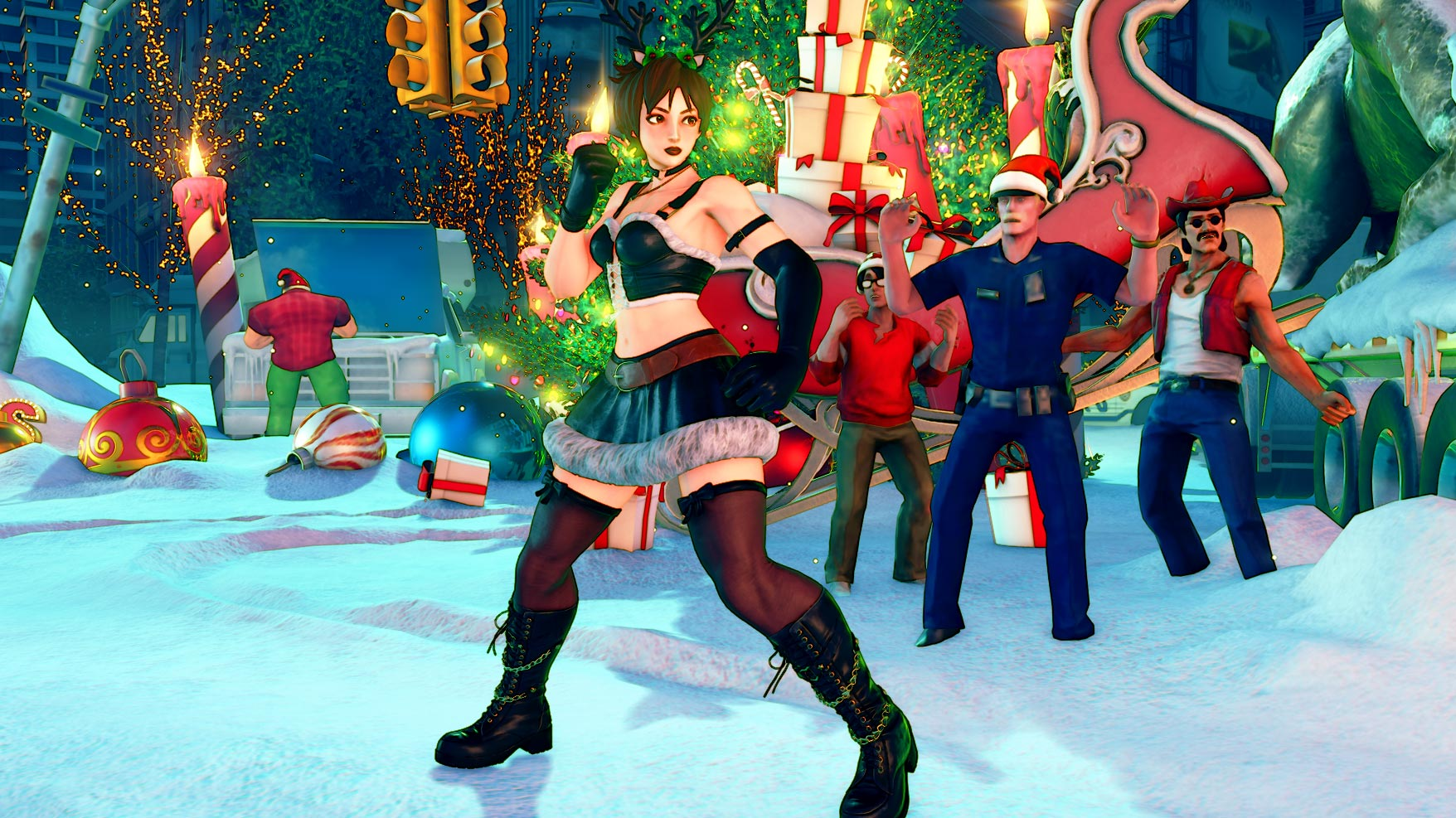 New Street Fighter 5 holiday costumes 8 out of 12 image gallery