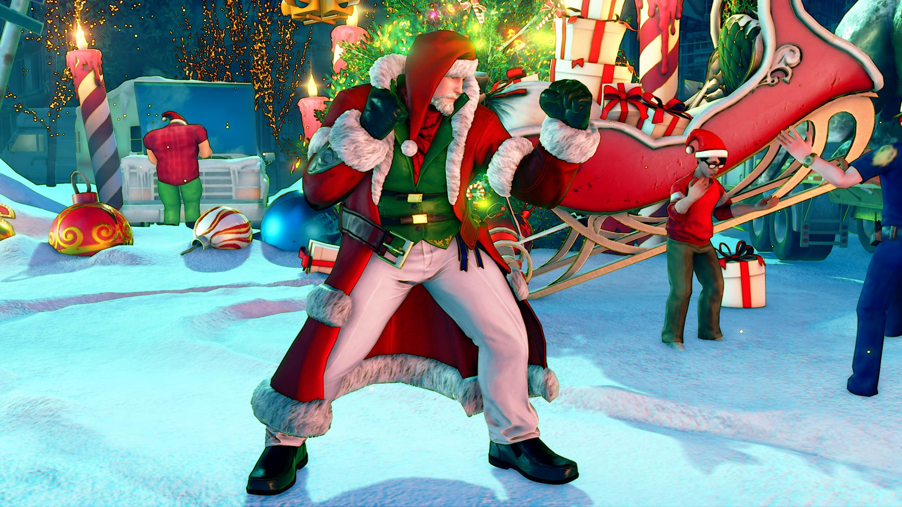 New Street Fighter 5 holiday costumes 11 out of 12 image gallery