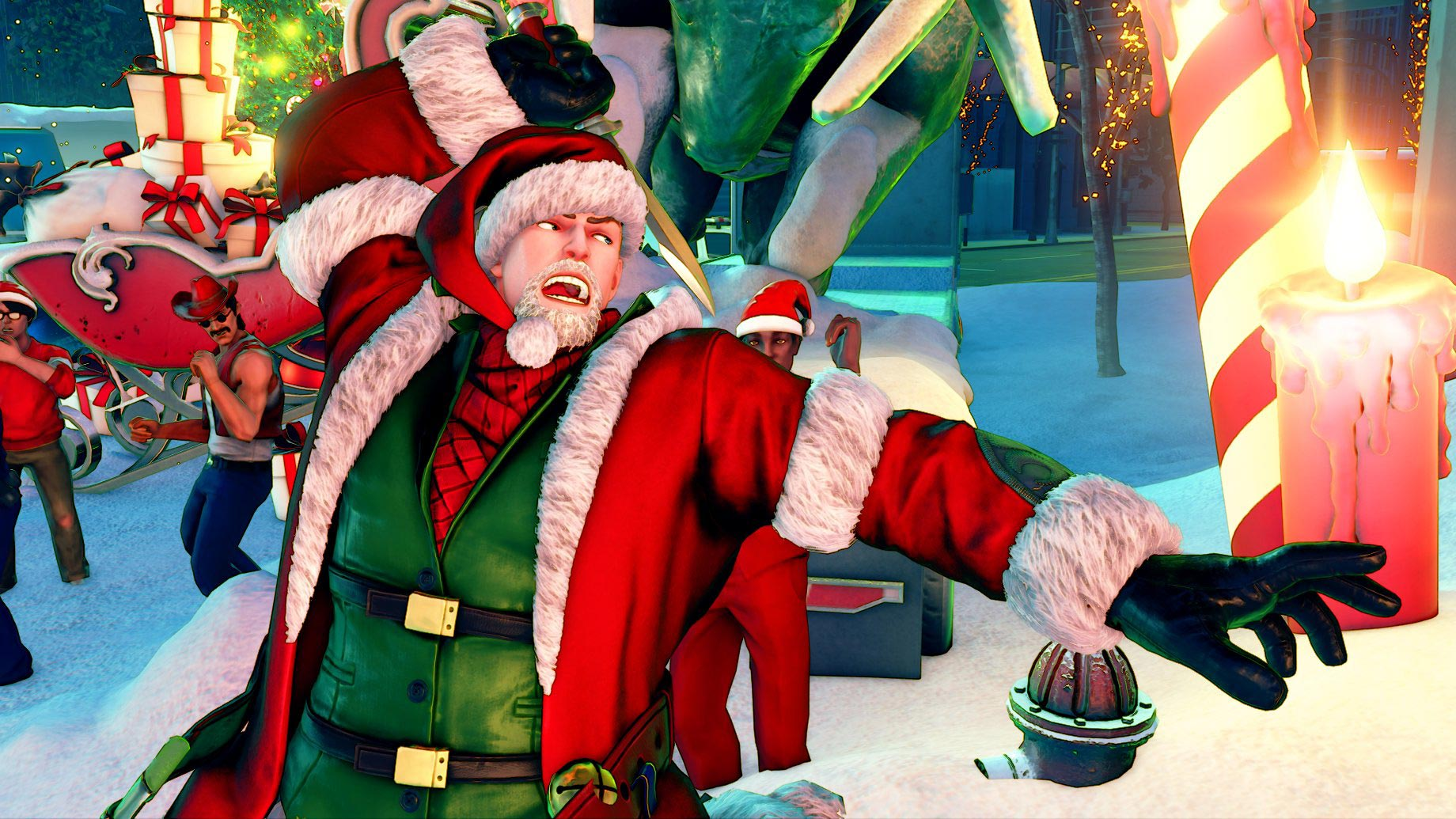 New Street Fighter 5 holiday costumes 12 out of 12 image gallery