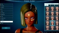 Jump Force avatar creation image #3