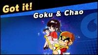 Goku is in Super Smash Bros... sorta image #1