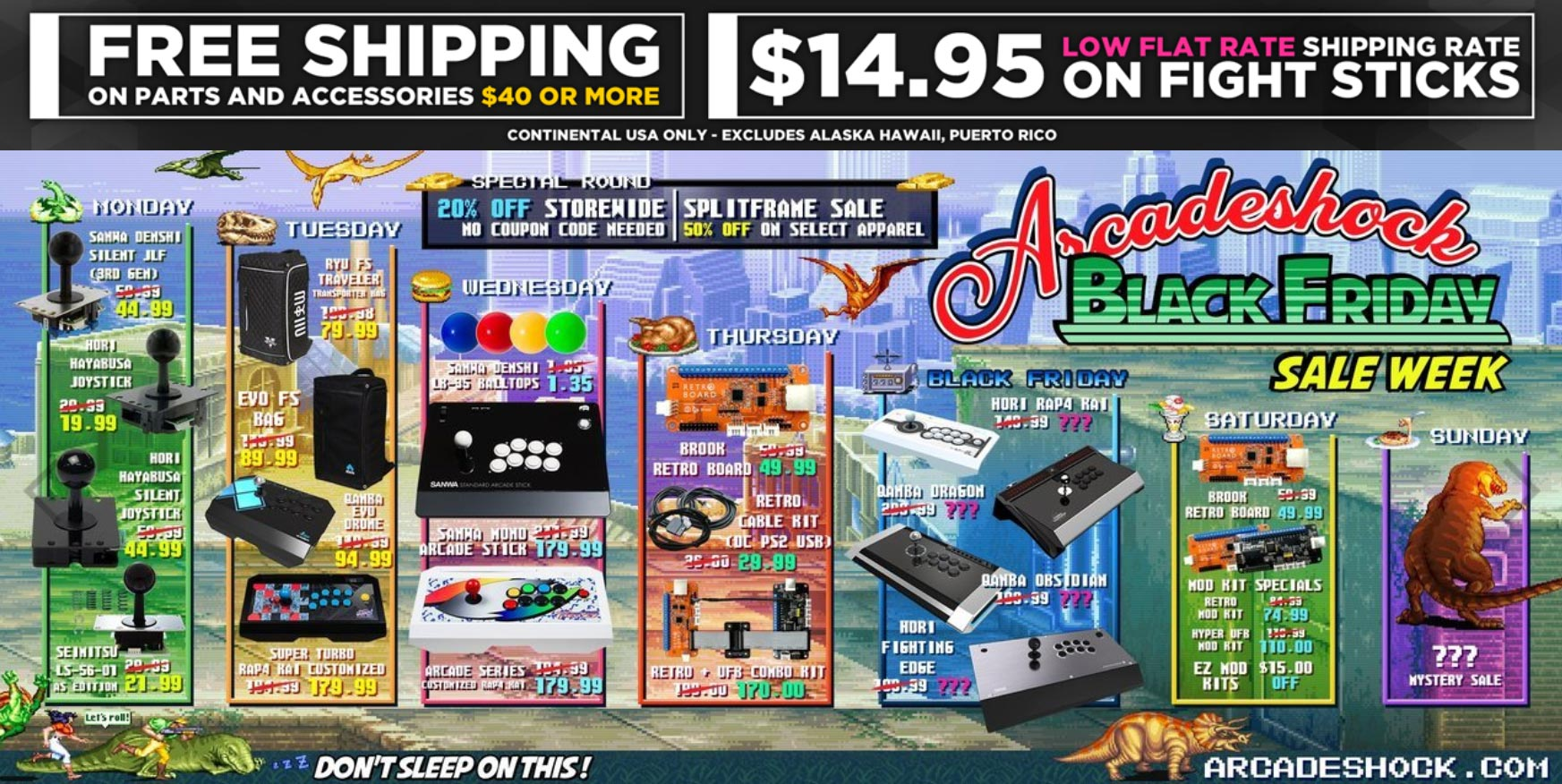 Arcade Shock Black Friday deals 1 out of 1 image gallery