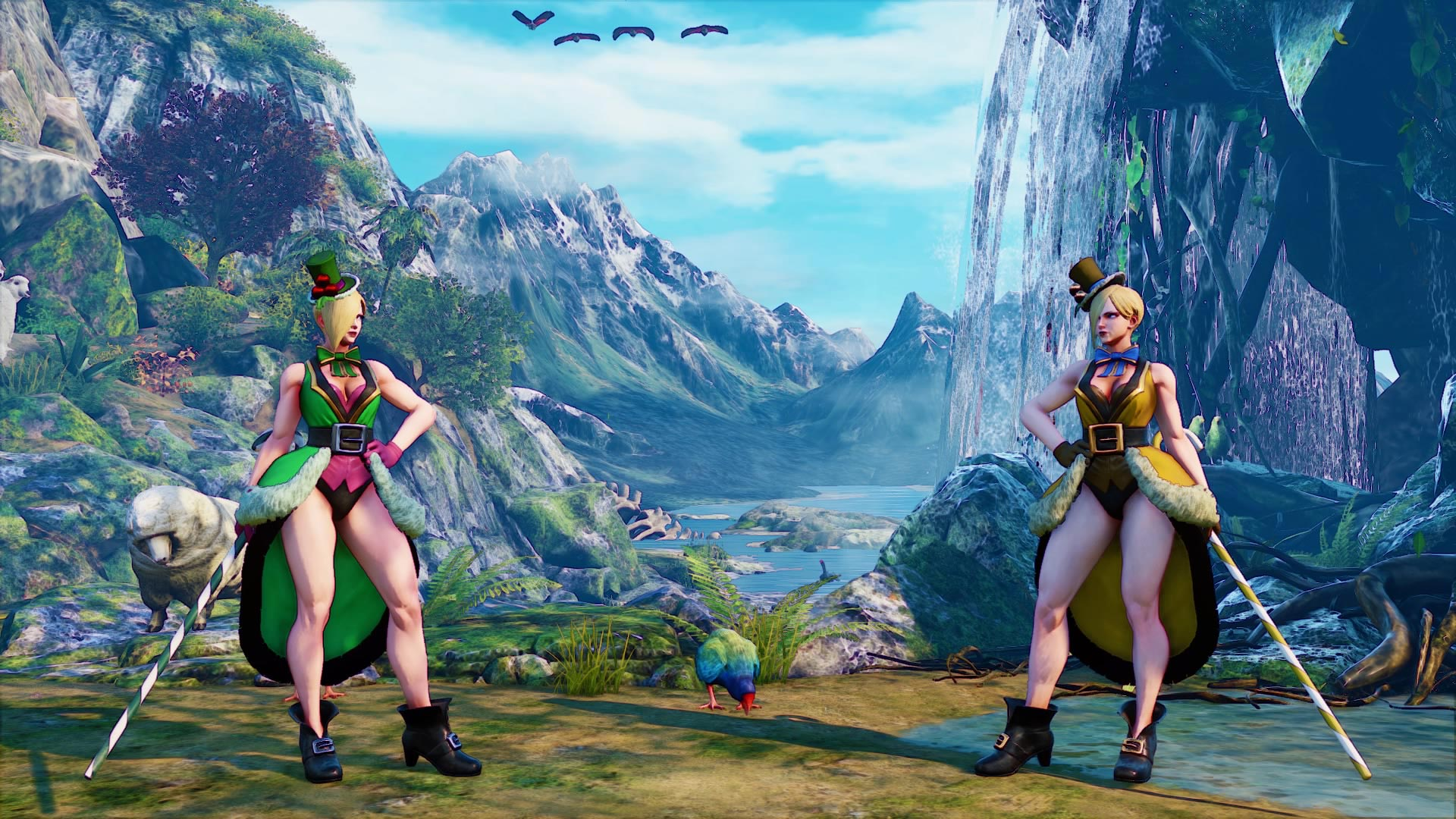 Street Fighter 5's new holiday costume colors image #7