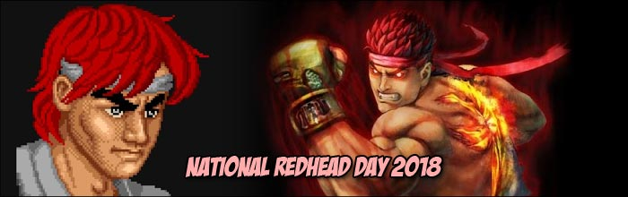 Ryu was originally a redhead in the first Street Fighter game
