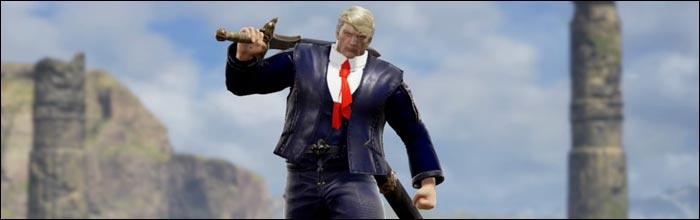 Making Soul Calibur great again, Donald Trump custom