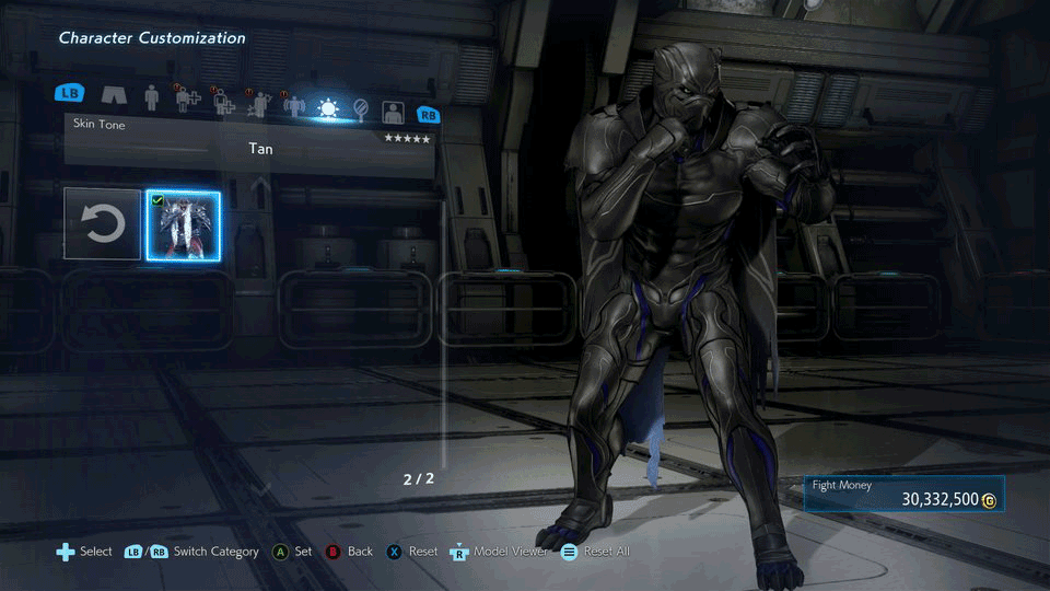 Armor King's Black Panther-esque costume 1 out of 6 image gallery