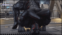 Armor King's Black Panther-esque costume image #5