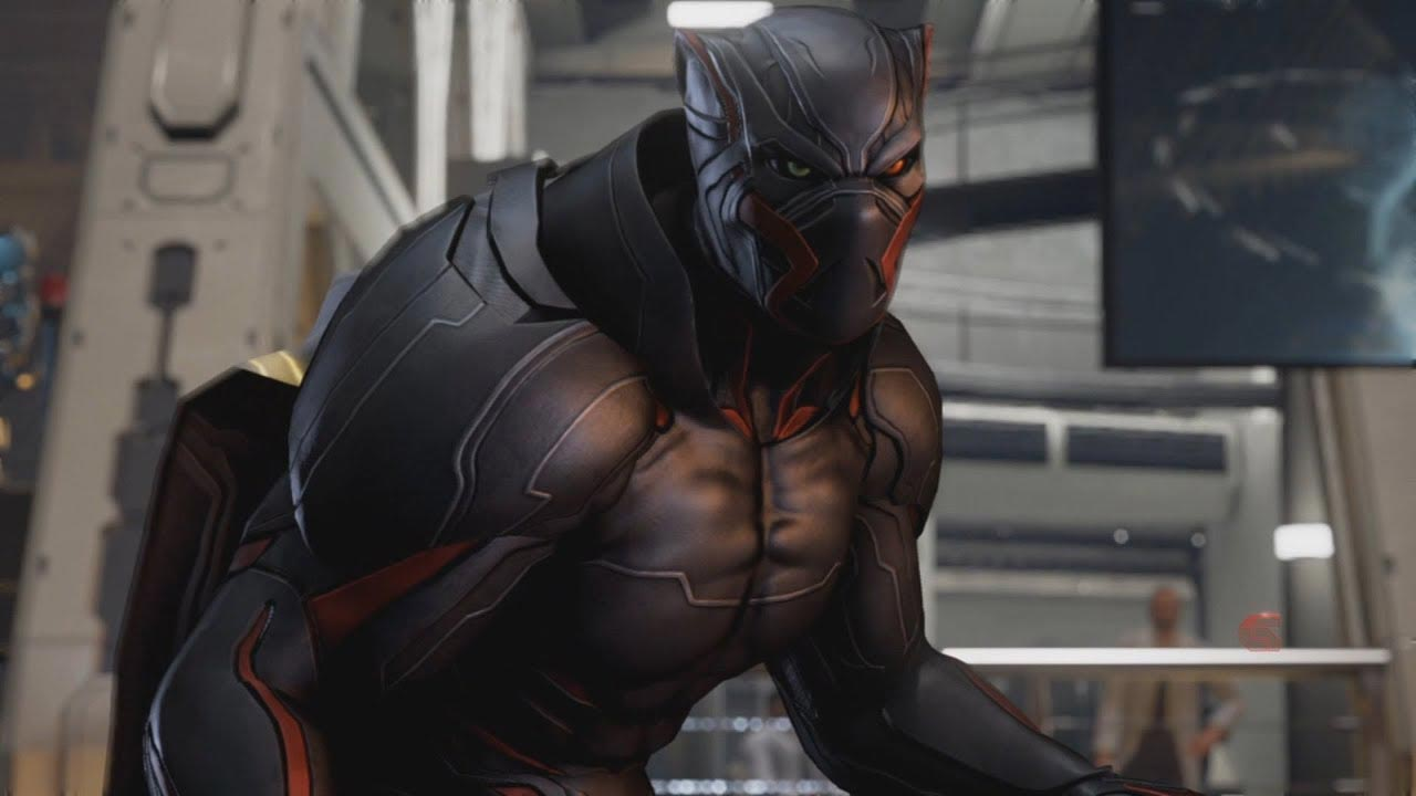 Armor King's Black Panther-esque costume 6 out of 6 image gallery
