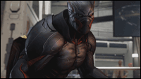 Armor King's Black Panther-esque costume image #6