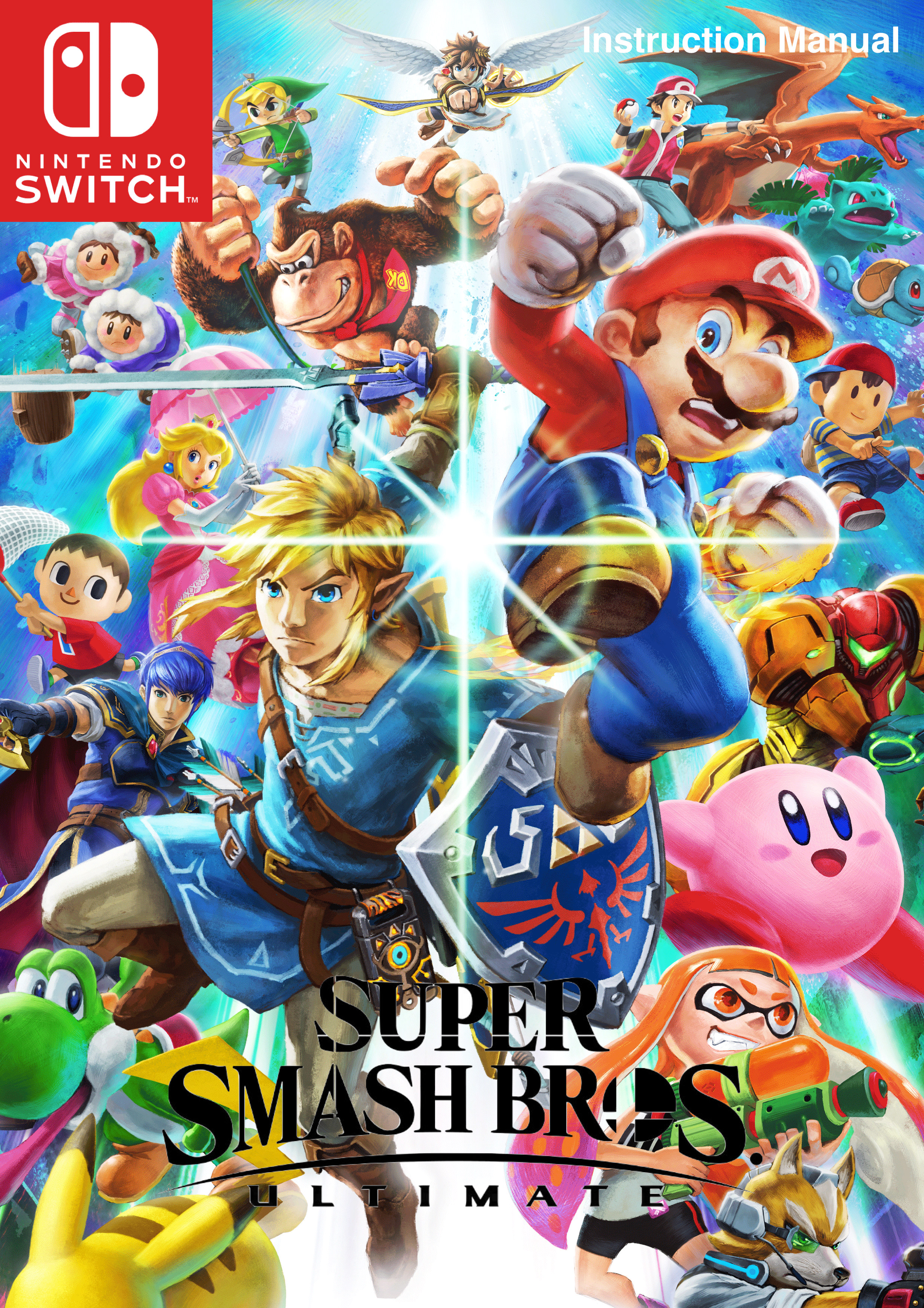 Fan-made Super Smash Bros. Ultimate manual 1 out of 6 image gallery