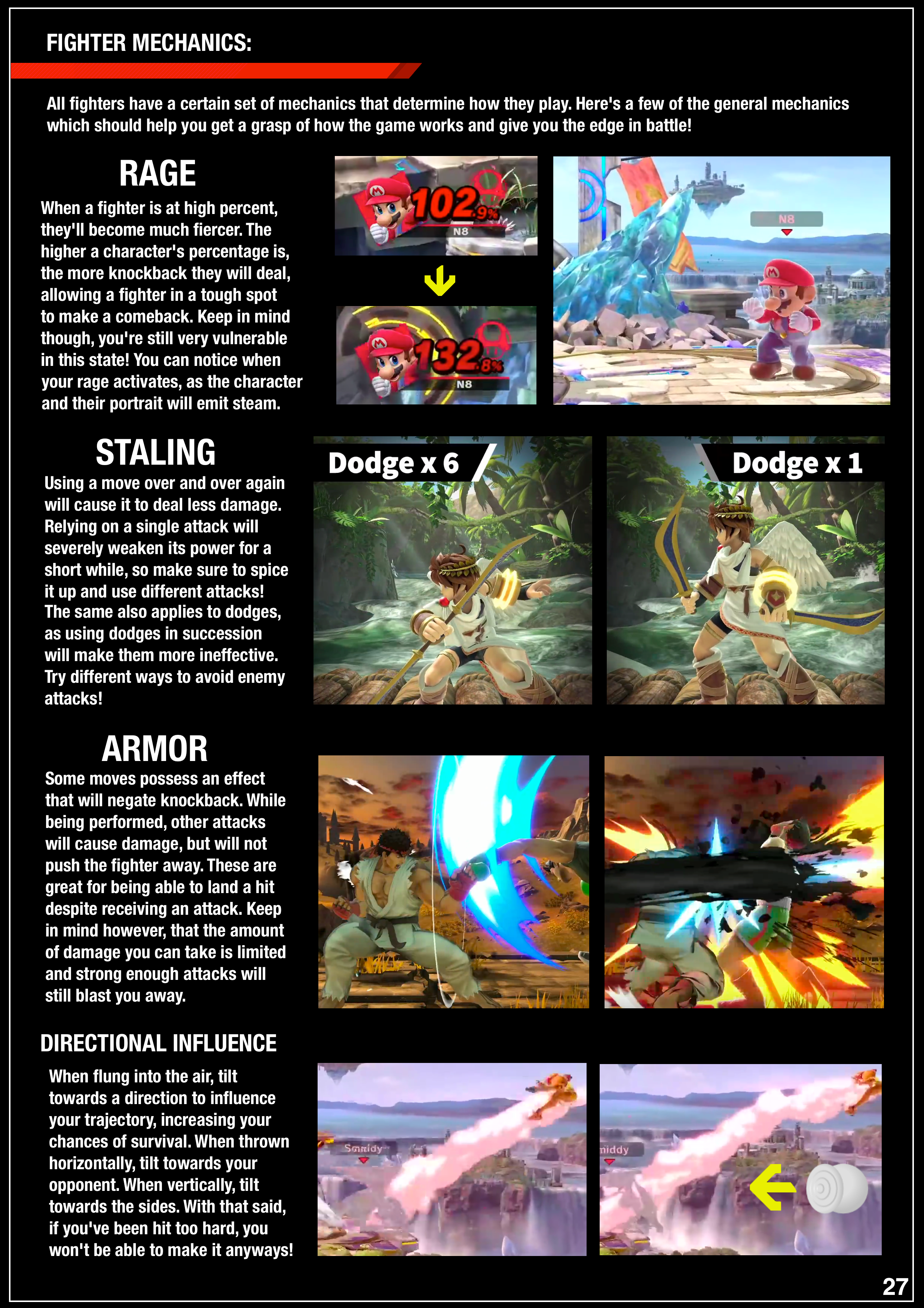Fan-made Super Smash Bros. Ultimate manual 5 out of 6 image gallery