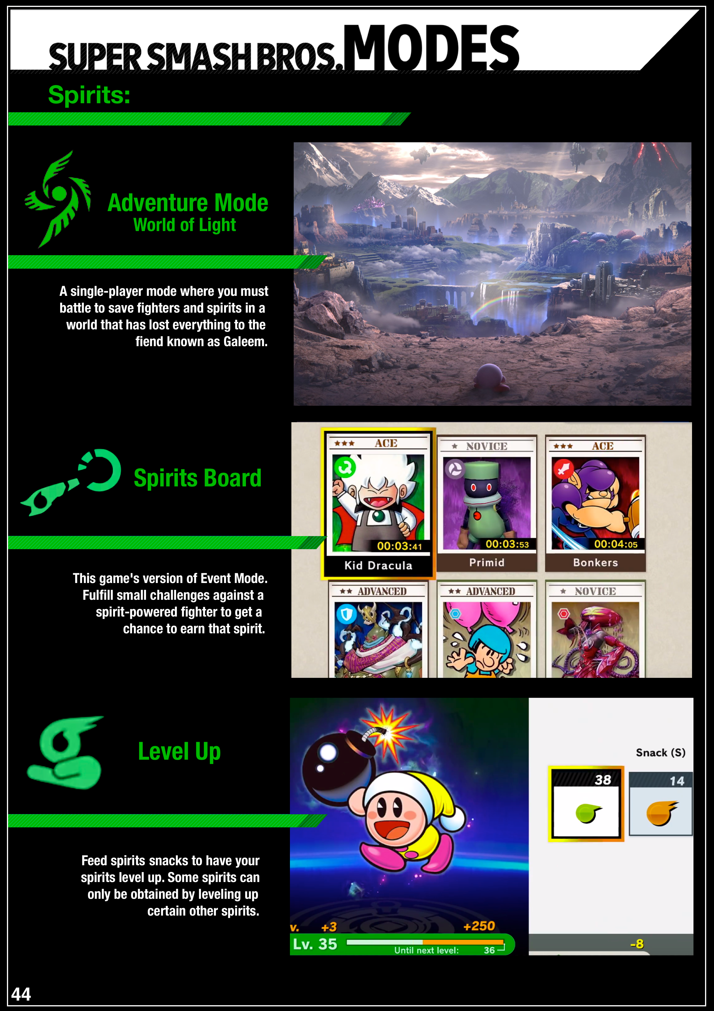 Fan-made Super Smash Bros. Ultimate manual 6 out of 6 image gallery