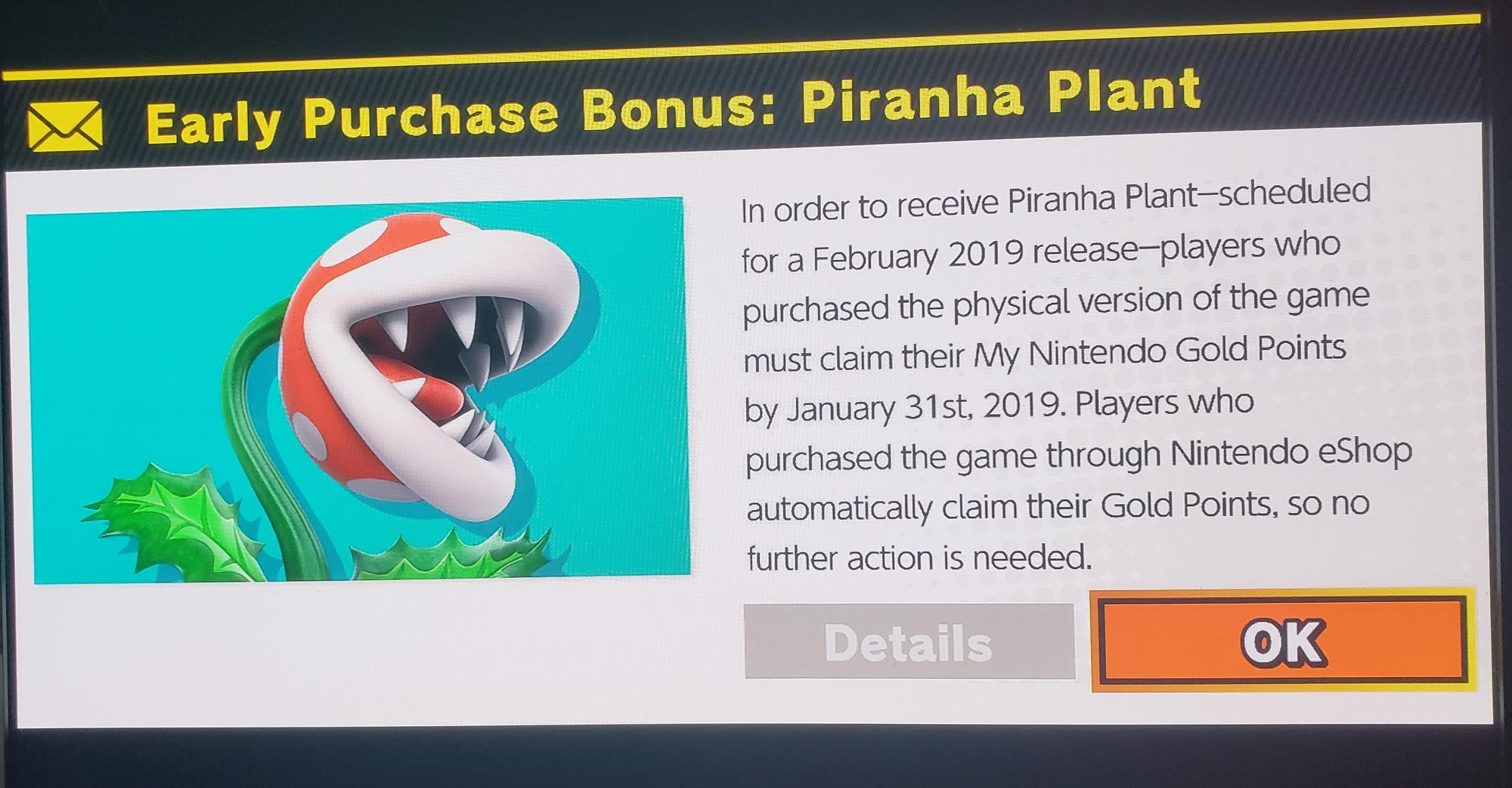 Piranha Plant Super Smash Bros. Ultimate prerequisite 2 out of 4 image gallery