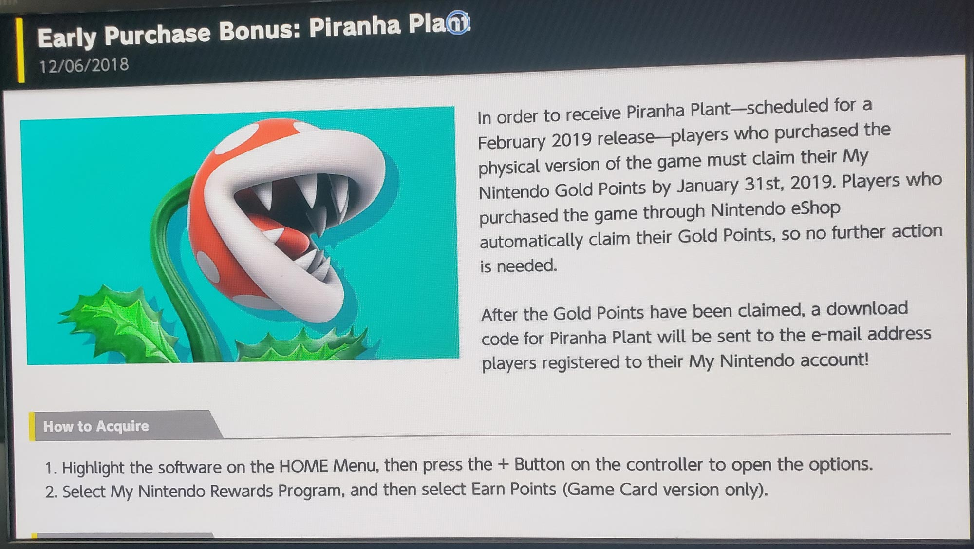 Piranha Plant Super Smash Bros. Ultimate prerequisite 3 out of 4 image gallery