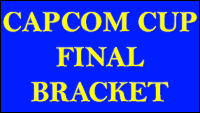 Updated final Capcom Cup 2018 bracket image #1