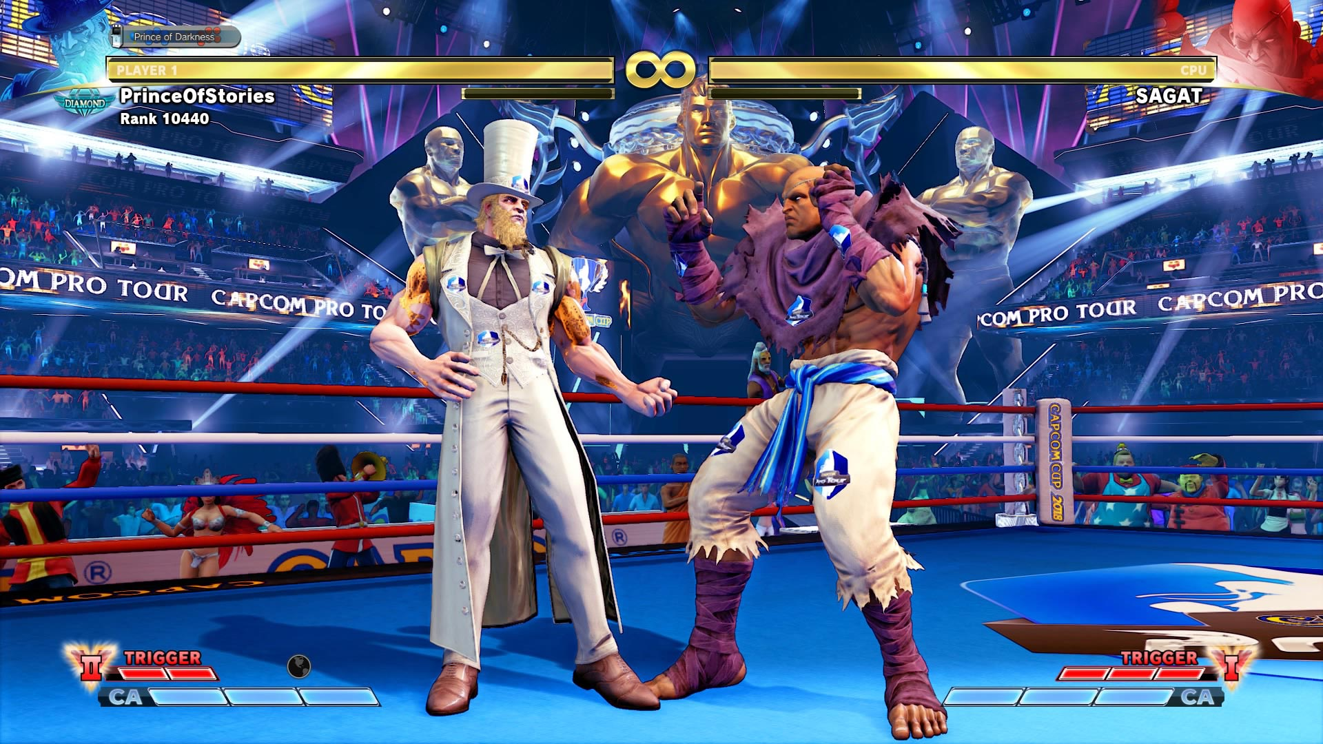 Street Fighter 5: Arcade Edition's sponsored content screenshots 3 out of 6 image gallery